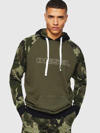 Diesel - UMLT-BRIAN, Green Camouflage - Sweaters - Image 1