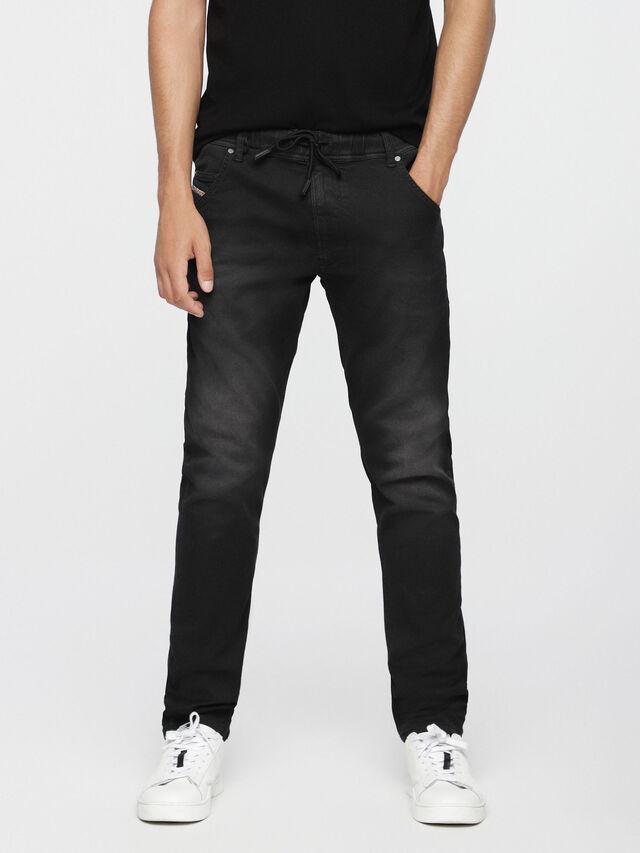 Diesel - Krooley JoggJeans 0670M, Black Jeans - Jeans - Image 1