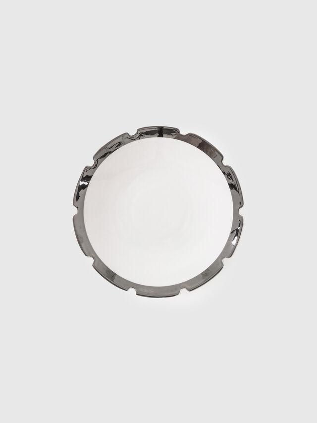 Living 10985SIL MACHINE, White - Plates - Image 1