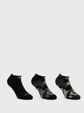 SKM-GOST-THREEPACK, Dark grey - Socks