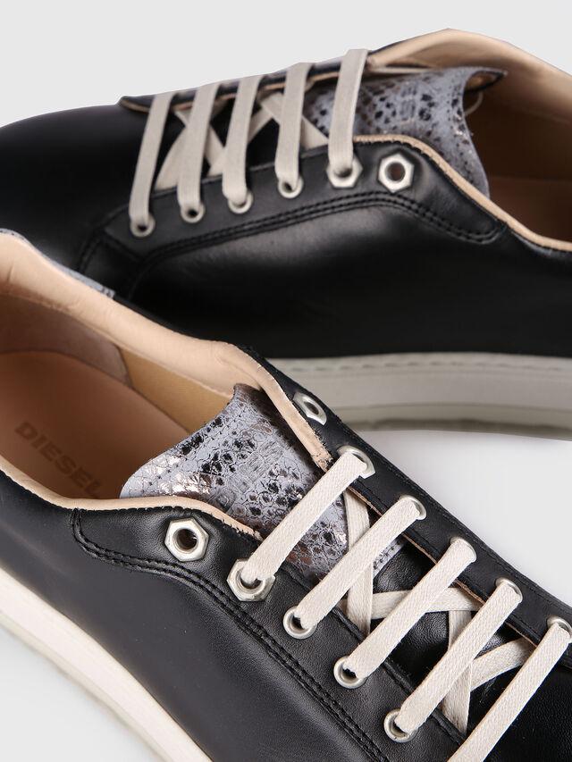 Diesel - S- ANDYES W, Black/Silver - Sneakers - Image 4