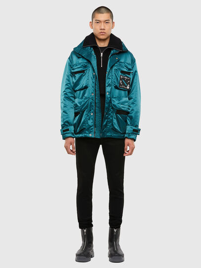 Diesel - J-HARRETT, Water Green - Jackets - Image 3