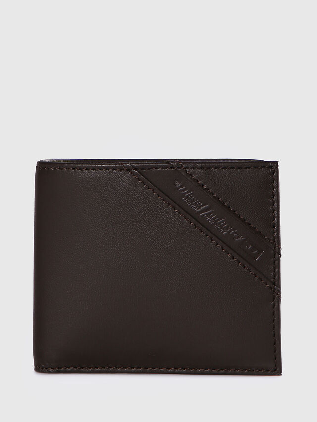 Diesel - HIRESH S, Dark Brown - Small Wallets - Image 1
