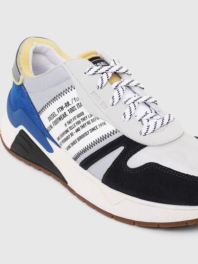 Diesel - S-BRENTHA FLOW, Grey/Blue - Sneakers - Image 4