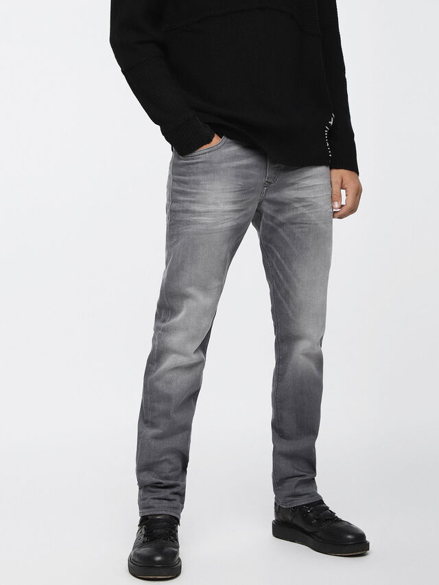 Diesel Buster 084HP, Light Grey - Jeans - Image 1