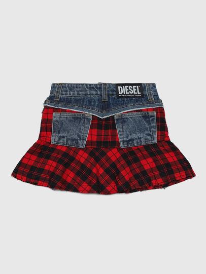 Diesel - GBETY, Red/Black - Skirts - Image 2