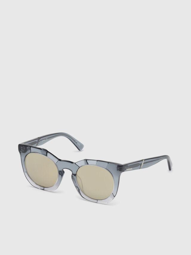 Diesel - DL0270, Grey - Eyewear - Image 2