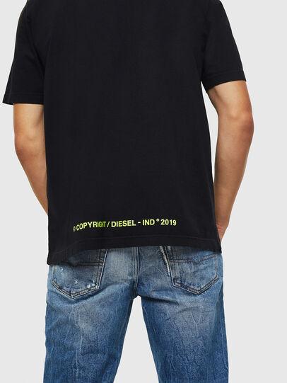 Diesel - T-DIKEL, Black - T-Shirts - Image 4