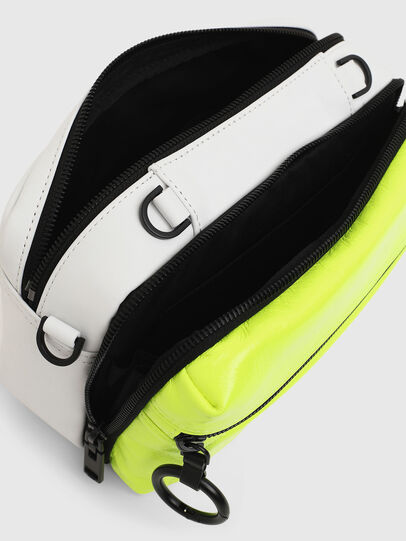 Diesel - FUTURAH, Yellow Fluo - Crossbody Bags - Image 5