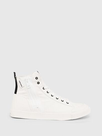 Diesel - S-ASTICO MID ZIP, White - Sneakers - Image 1