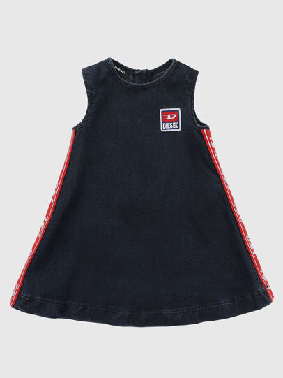 Diesel - DMATYB JOGGJEANS, Dark Blue - Dresses - Image 1
