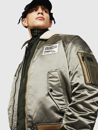 Diesel - W-FEDOVIK, Military Green - Winter Jackets - Image 6