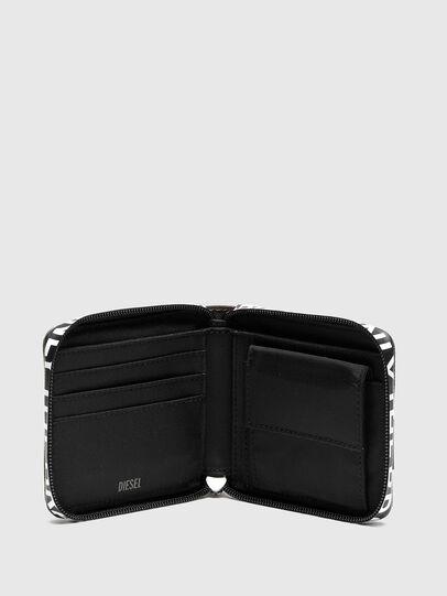 Diesel - HIRESH XS ZIPPI, Multicolor/Brown - Zip-Round Wallets - Image 3