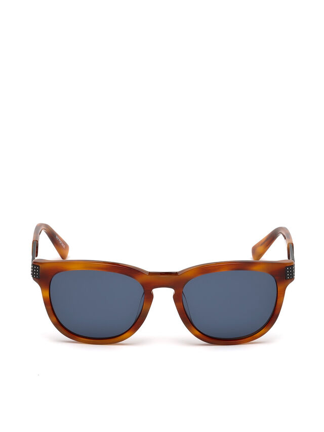 Diesel - DL0237, Light Brown - Eyewear - Image 1