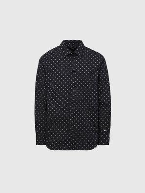 S-RILEY-ANC-KA, Black - Shirts