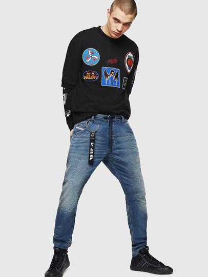 Diesel - Krooley JoggJeans 069HG, Medium blue - Jeans - Image 6