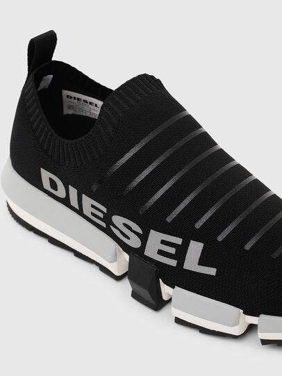 Diesel - H-PADOLA LOW SOCK, Black - Sneakers - Image 6