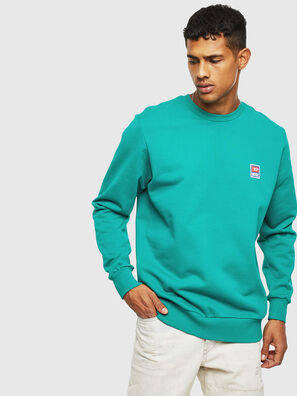 S-GIR-DIV-P, Water Green - Sweaters
