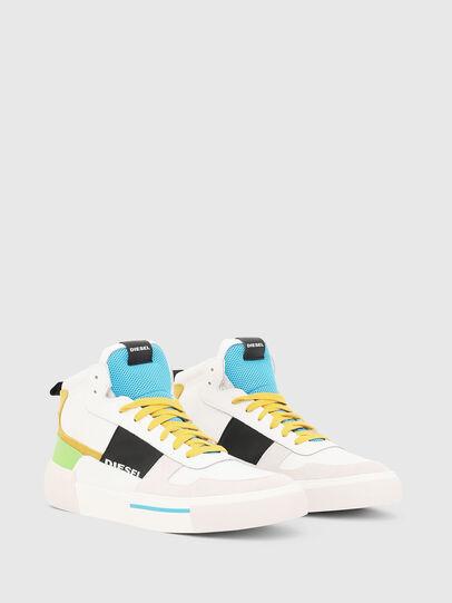 Diesel - S-DESE MG MID, White - Sneakers - Image 2