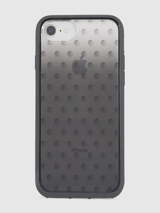 MOHICAN HEAD DOTS BLACK IPHONE 8 PLUS/7 PLUS/6s PLUS/6 PLUS CASE, Black