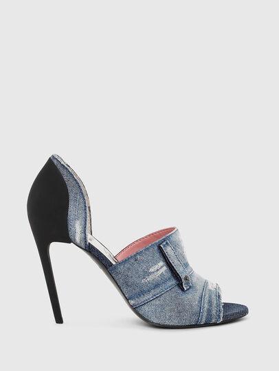 Diesel - SA-SLANTY OTD, Blue Jeans - Sandals - Image 1