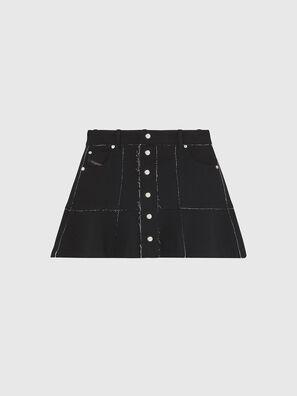 O-BETH-B, Black - Skirts