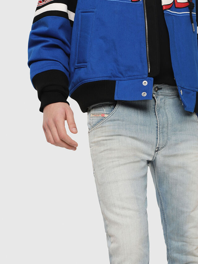 Diesel - Krooley JoggJeans 087AB, Light Blue - Jeans - Image 3