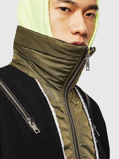 Diesel - W-SHARYN, Black/Green - Winter Jackets - Image 6