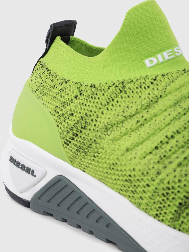 Diesel - S-KB ATHL SOCK, Green Fluo - Sneakers - Image 4