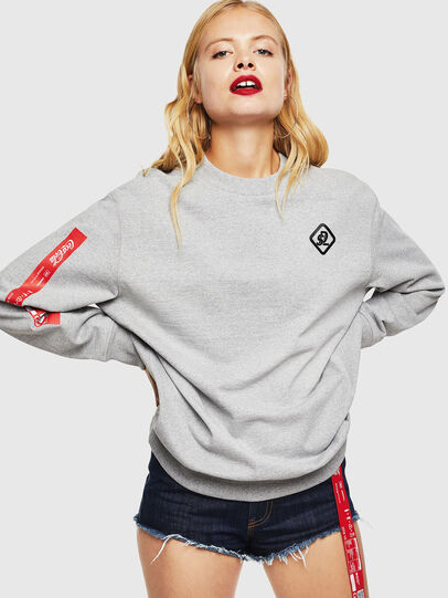 Diesel - CC-S-BAY-COLA, Grey - Sweaters - Image 2