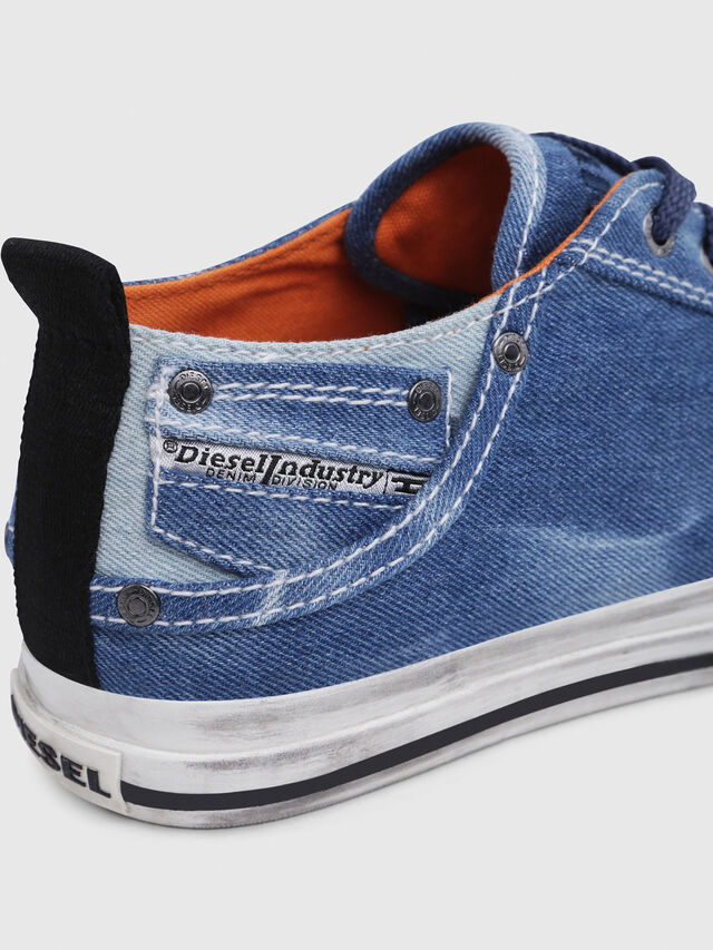 Diesel - EXPOSURE LOW I, Blue Jeans - Sneakers - Image 5
