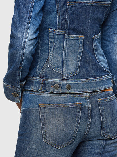 Diesel - DE-JYBRA, Medium blue - Denim Jackets - Image 5