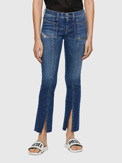 Diesel - Slandy 009ZW, Medium blue - Jeans - Image 1