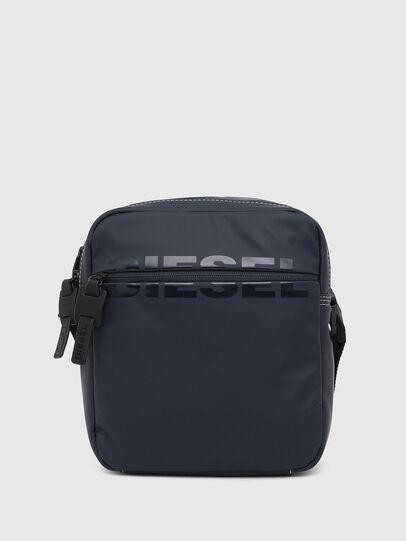 Diesel - DOUBLECROSS, Blue - Crossbody Bags - Image 1