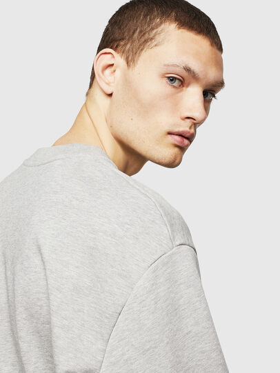 Diesel - S-CREW-DIVISION-D, Light Grey - Sweaters - Image 3