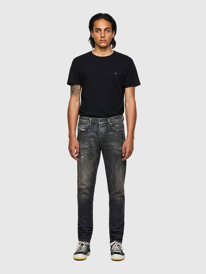 Diesel - D-Strukt JoggJeans® 09B54, Black/Dark grey - Jeans - Image 5