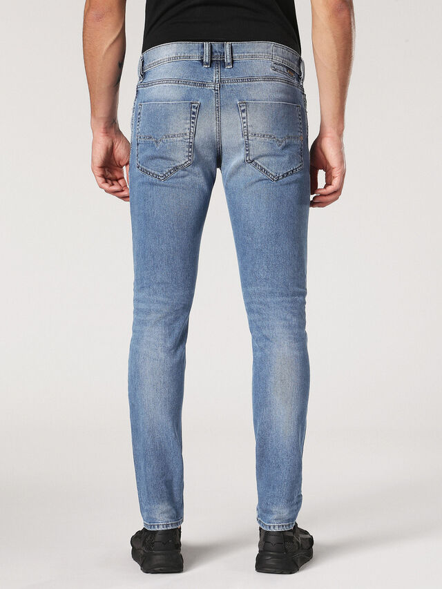 Diesel - Tepphar 0842H, Light Blue - Jeans - Image 3