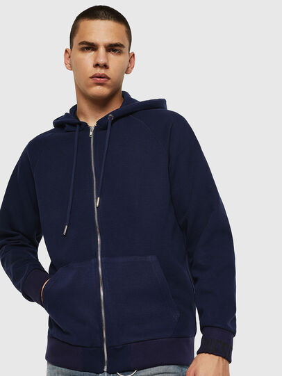 Diesel - S-ERGEY, Blue - Sweaters - Image 1