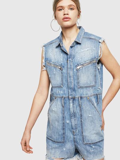 Diesel - DE-BETTE, Blue Jeans - Jumpsuits - Image 1