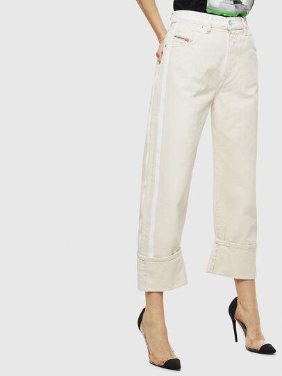Diesel - D-Reggy 009BB, White - Jeans - Image 4