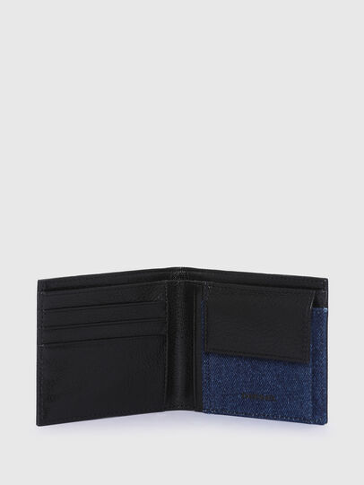 Diesel - HIRESH S, Black/Blue - Small Wallets - Image 3