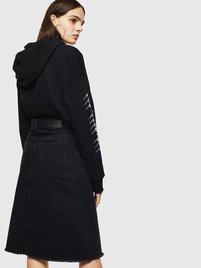 Diesel - DE-SISIL, Black - Skirts - Image 2