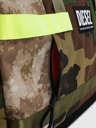 Diesel - SOLIGO, Green Camouflage - Travel Bags - Image 4