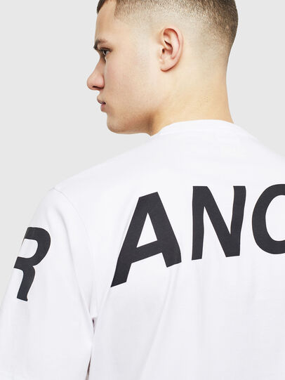 Diesel - T-JUST-T21, White - T-Shirts - Image 5