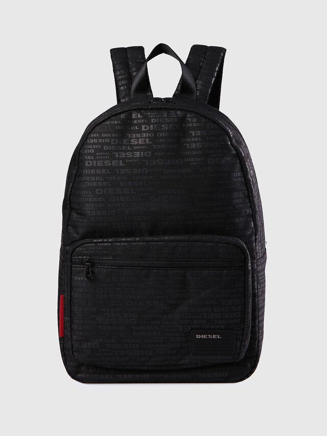 Diesel - F-DISCOVER BACK, Black/Red - Backpacks - Image 1