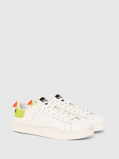 Diesel - S-CLEVER LOW LACE, White/Yellow - Sneakers - Image 2