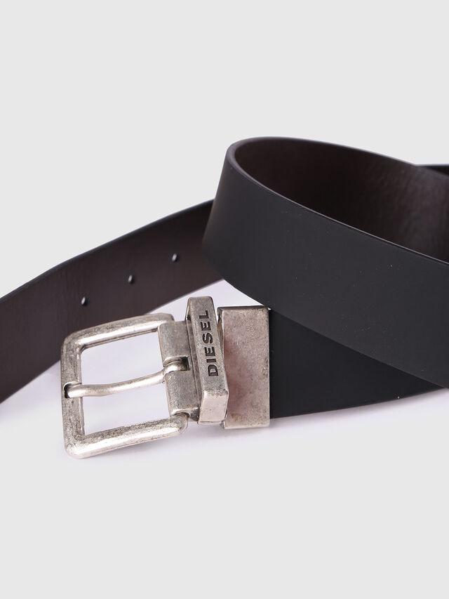 Diesel B-DOUBLEC, Black/Brown - Belts - Image 3