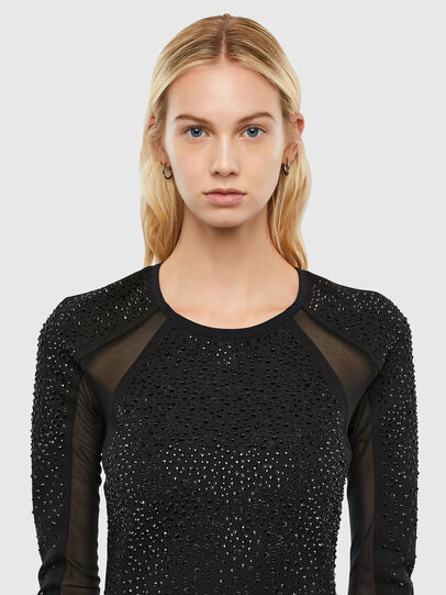 Diesel - D-BRILLA, Black - Dresses - Image 3