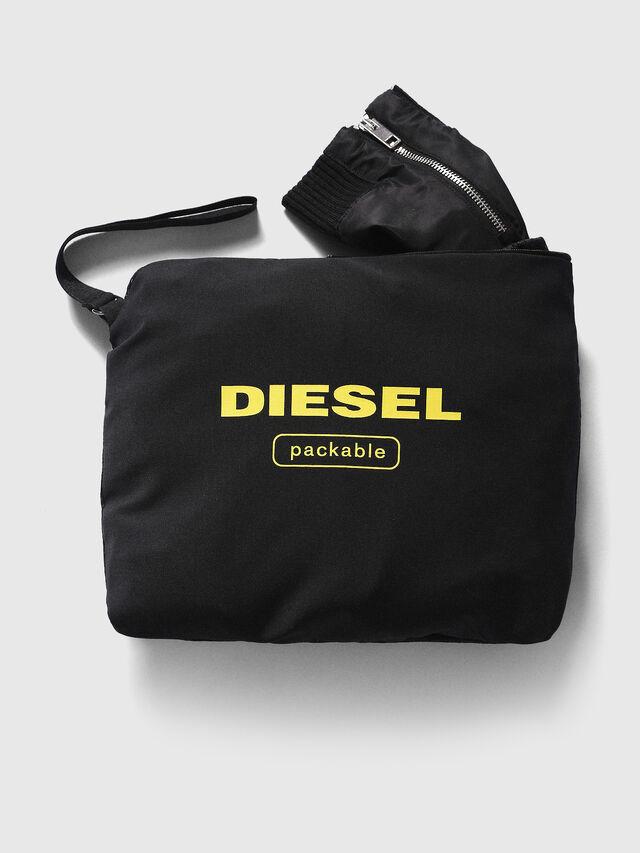 Diesel J-FOLLYER, Black - Jackets - Image 3