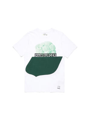 D-SHIELD-GREEN, White - T-Shirts